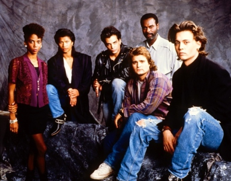 The original 21 Jump Street cast.